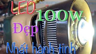 Độ vỏ đèn pin siêu  sáng 100W Đẹp nhất qủa đất bằng Óng nhựa PVC