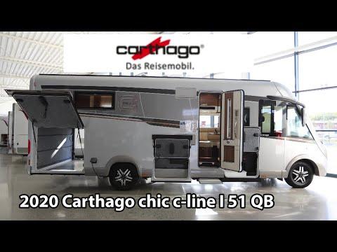 Carthago Chic E-line I 51 QB 2020 Motorhome 7,91 M