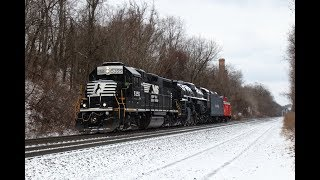 NKP 757 Being Moved on NS 955 on the Pittsburgh Line