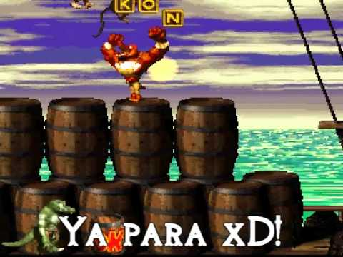 Donkey Kong Country 2 (Random) Ktroopas Tomate Borra.Cho xD