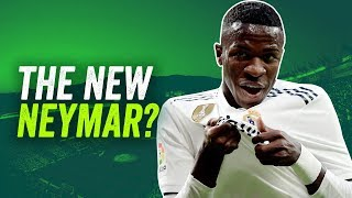 Is Vinicius Junior the NEW Neymar? ► Onefootball Scout Report