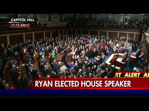 Paul Ryan Makes Acceptance Speech as New Speaker of the House