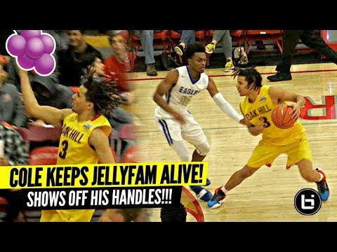 Cole Anthony Hits a MEAN JELLY!! Gives Defenders NIGHTMARES w/ His Handles!!