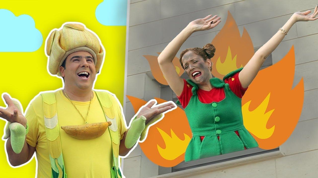 فوزي موزي وتوتي – البيت يحترق –The house is on fire