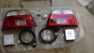 Bmw E39:  Hella Celis Led Tail Light Upgrade Installation