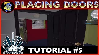 House Flipper Tutorial | How To Place Doors | #TipsTricks #HouseFlipperTutorials