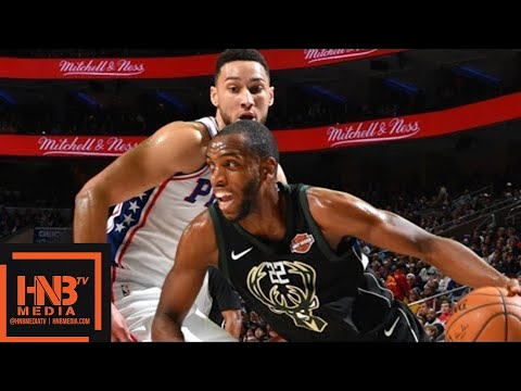 Milwaukee Bucks vs Philadelphia Sixers Full Game Highlights / Jan 20 / 2017-18 NBA Season
