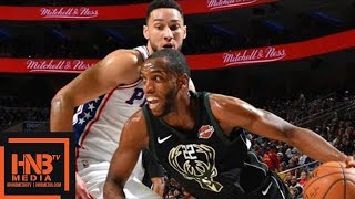 Milwaukee Bucks vs Philadelphia Sixers Full Game Highlights / Jan 20 / 2017-18 NBA Season