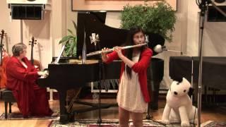 Opus 4 Studios: Sarah Lim, Flute - Flute Sonata: Aria,  Allegro scherzando by Otar Taktakishvili