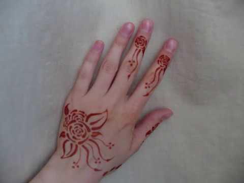 Mehndi Henna Lemon : Essential oil & henna experiment youtube