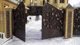 видео кованые изделия в тюмени
