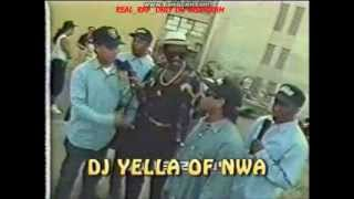 N.W.A 100 Miles & Runnin Interview/Behind the scenes footage [Rare]