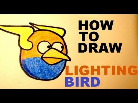 How To Draw Angry Birds Space