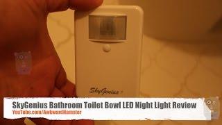 SkyGenius Bathroom Toilet Bowl LED Night Light Review