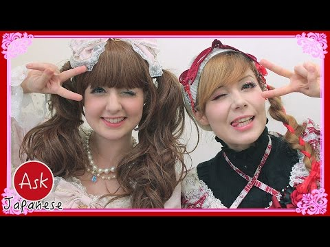 JAPANESE FASHION VS WEST: LOLITA FASHION and NORMAL FASHION ACROSS THE GLOBE.