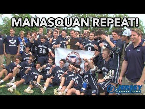 Manasquan 11 CBA 3|  SCT Boys Lax Final | Canyon Birch 100th goal in 2018