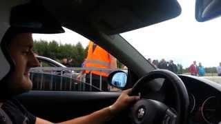 BMW 335D E92 400hp JS PERFORMANCE VS Ibiza TDI 280chx Clastres 22/09/2013
