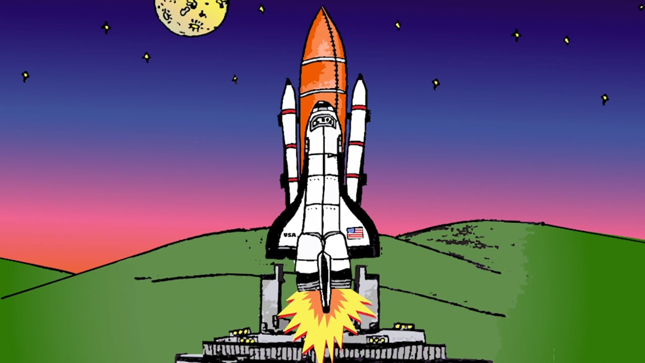 space shuttle animation - photo #8