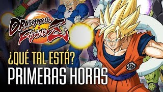 Gameplay comentado: Primeras horas con Dragon Ball Fighter Z