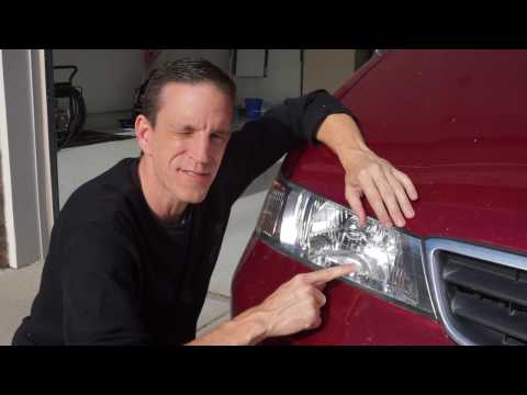 Restore Headlights with Clear Coat Spray