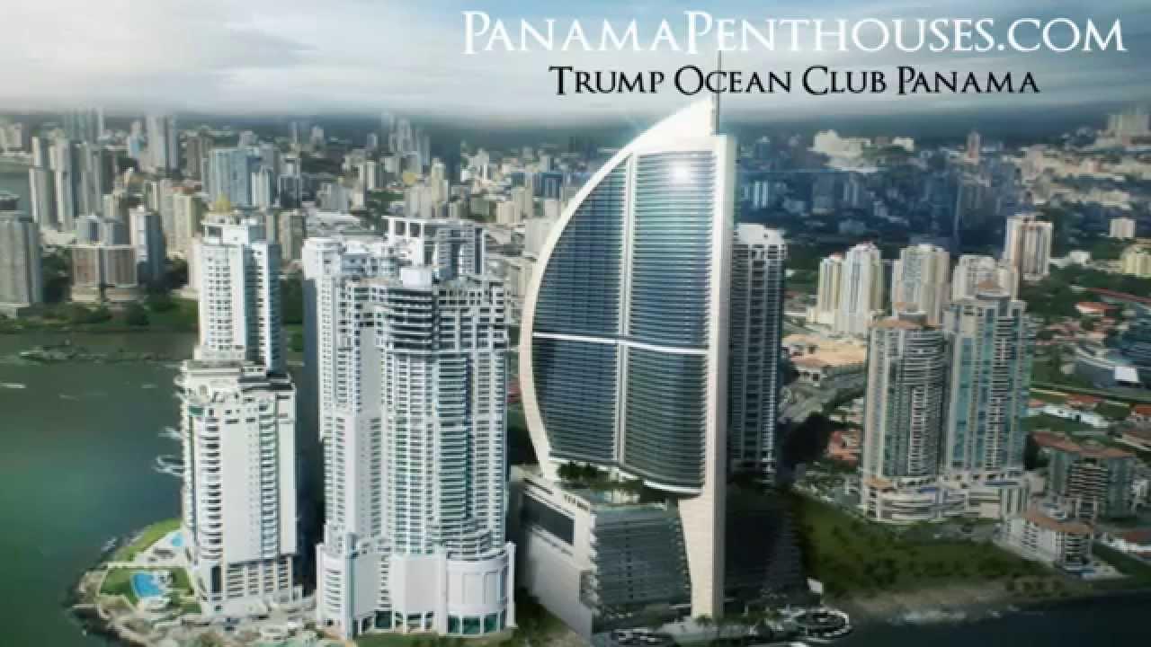 Penthouse Condo for Sale at Trump Ocean Club, Panama - YouTube