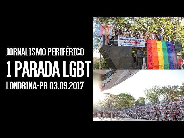 Primeira parada LGBT reúne milhares de pessoas em Londrina
