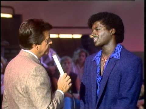 Dick Clark Interviews Eugene Wilde - American Bandstand 1985