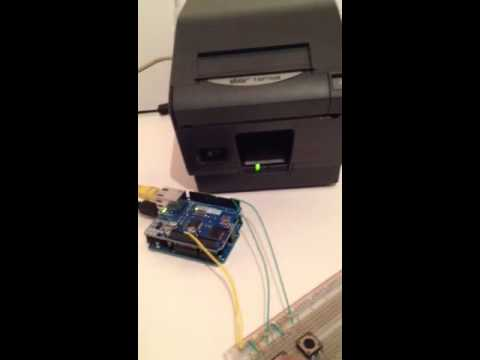 Arduino thermal printer youtube for Thermal watches