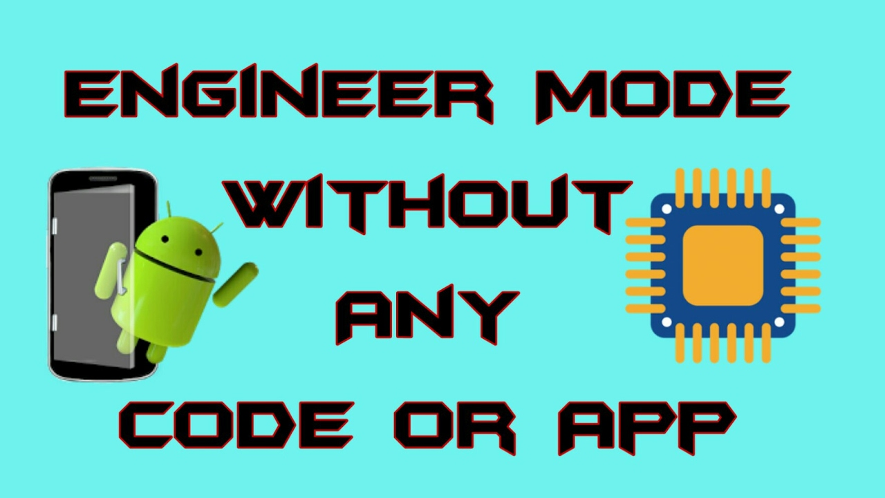 OMG!! Engineer mode without any code or app!    Tech Guys