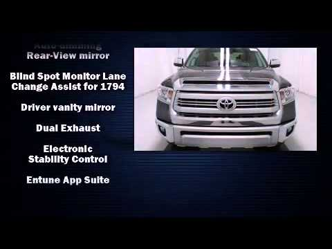 2015 Toyota Tundra 1794 Crewmax 4wd Navigation Youtube