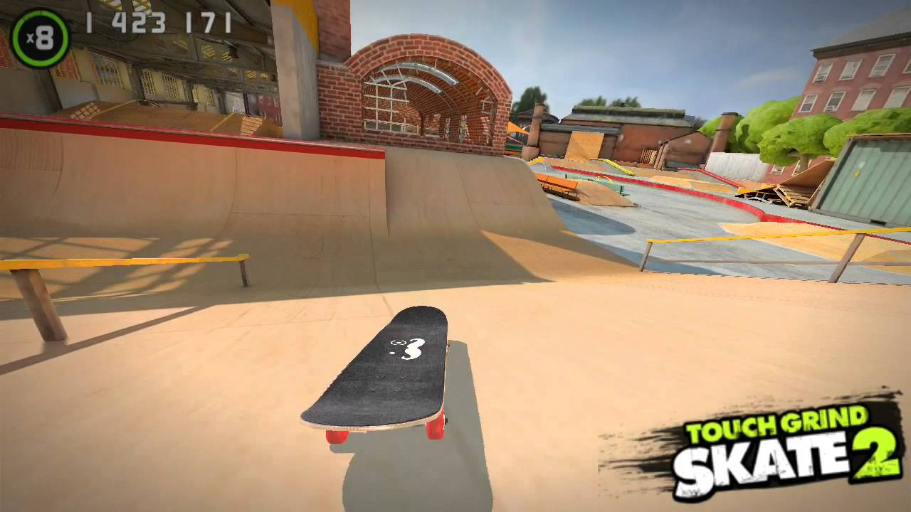 Touchgrind Skate 2 - Tricked Out Touch Gaming - AppleNAppsAppleNApps