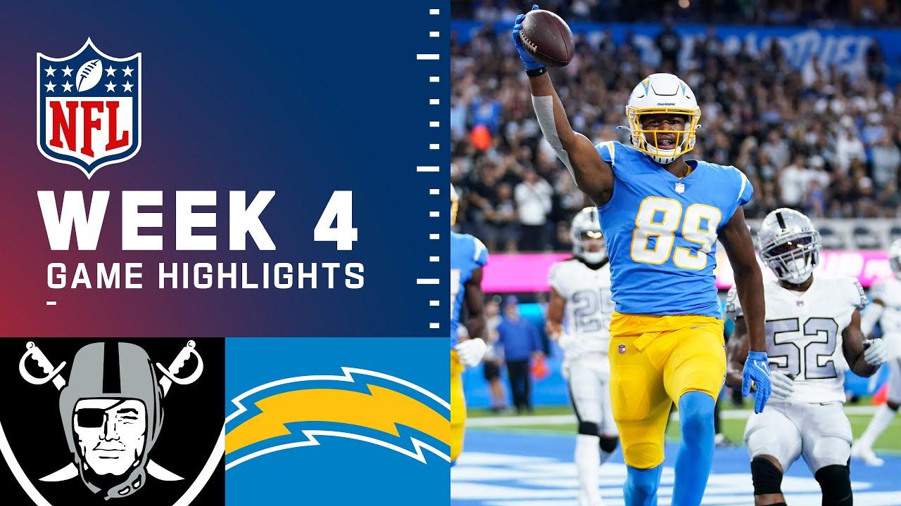 Download Raiders vs. Chargers Week 4 Highlights   NFL 2021
