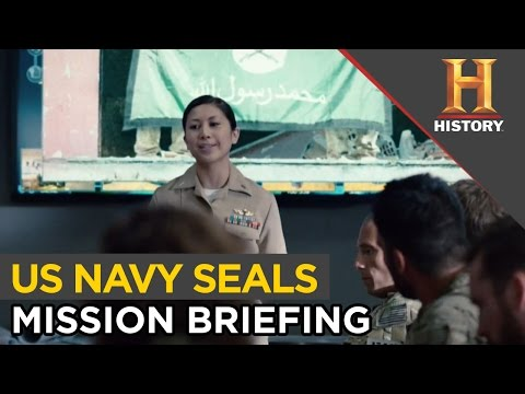 Briefing Before Navy SEAL Mission | SIX