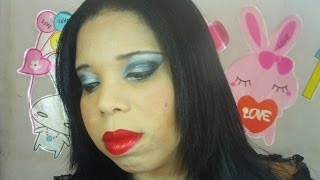 Make entre amigas Halloween Morticia Addams By Lili Bonita