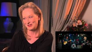 Meryl Streep - Playing guitar
