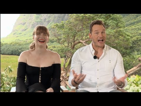 Uncensored JURASSIC WORLD: FALLEN KINGDOM s  Pratt, Bryce Dallas Howard, Goldlbum, Bayona