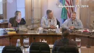 Salt Lake City Council Work Session - 9/17/2019