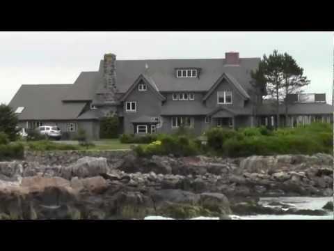 George Bush house in Kennebunkport