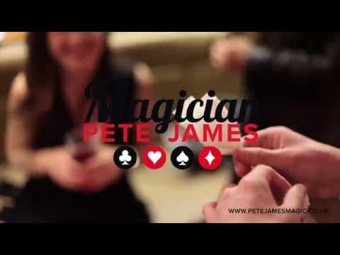Pete James Magic - Showreel