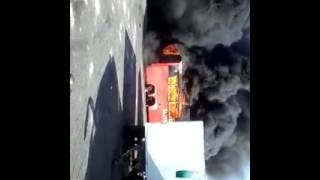 Zimbabwean buses burning in South Africa