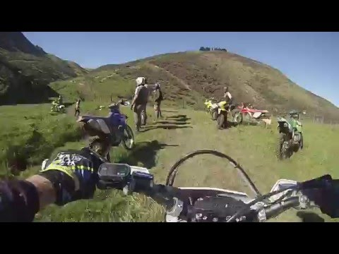 2015 Sherco 450 sefr,Trail Ride,Enduro Sections,Surrey Hills Mayfield,Hinds Gorge Road,New Zealand,1