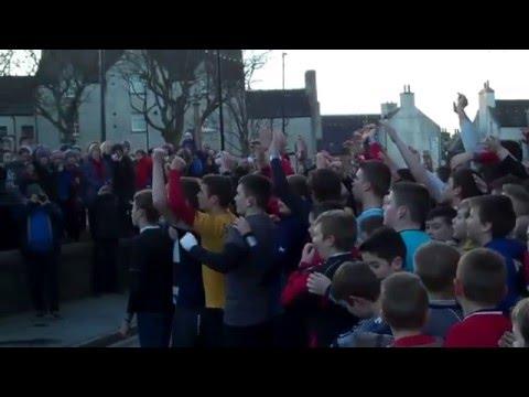 Kirkwall Boys Ba New Year 2016 (part 1 of 2)