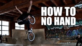 How to No Hand BMX (Как сделать олдскул ноу хенд) | Школа BMX Online #46 [Дима Гордей 2015]