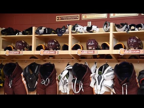 UMD Bulldogs Hockey Behind the Scenes at Amsoil Arena
