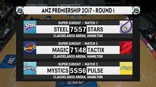 2017 anz premiership round 1