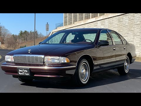 1995 Chevrolet Caprice Classic For Sale By Specialty Motor Cars Bubble Chevy Impala SS B Body