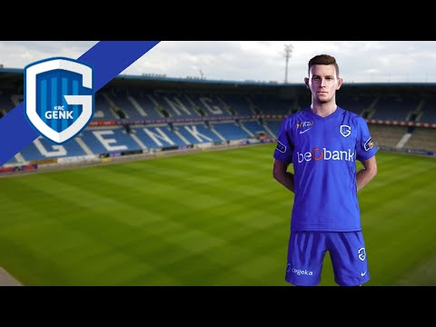 Krc Genk 2020 21 Official Home Kit Pes 2020 Pes 2021 Youtube