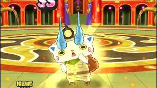 Yo kai watch Puni Puni  // Treasure Komasan Gold SS impossible stage battle + Befriending