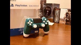 New PlayStation 4 DualShock 4 Wireless Controller - Alpine Green Unboxing