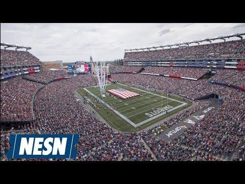 Patriots Vs. Chargers Pregame Live